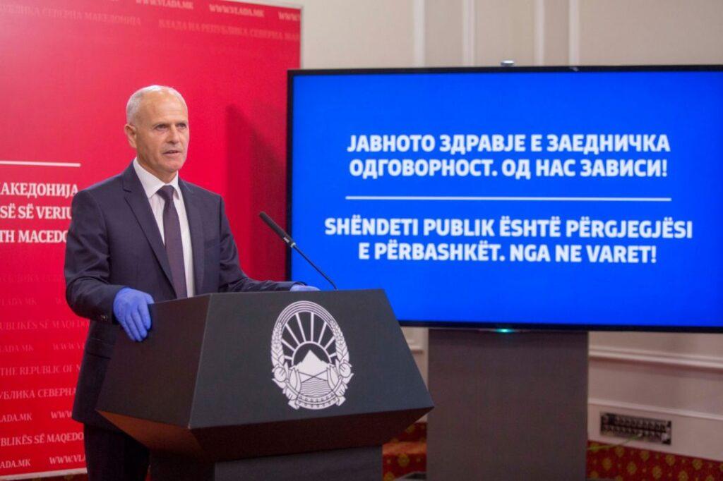 Пауновски: Заев нека си ги прими рамковните кај него во кабинет, а не во ДПИ