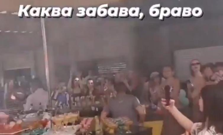 Во Турција растурена забава на познати македонски фаци (ВИДЕО)