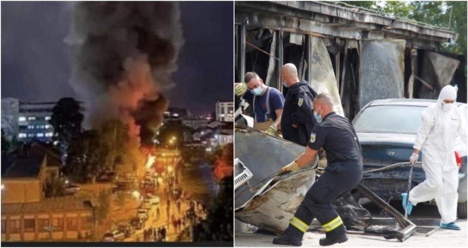 """Хрватски """"Вечерњи лист"""" за трагедијата во Тетово: Татко скокнал врз својот син за да го спаси од пламенот, но не успеал"""
