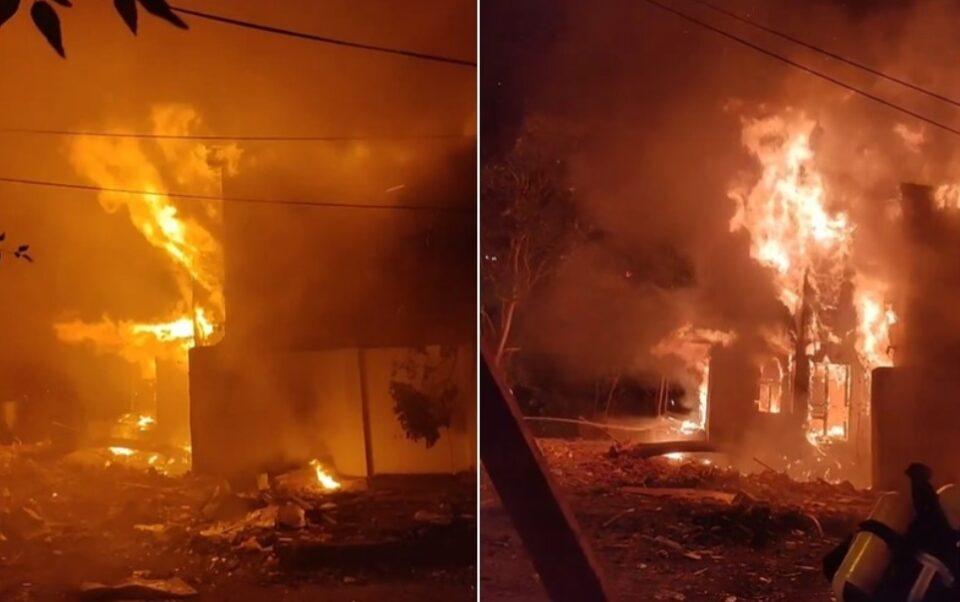 ВОНРЕДНА ВЕСТ: Голем пожар вечерва во центарот на Скопје!