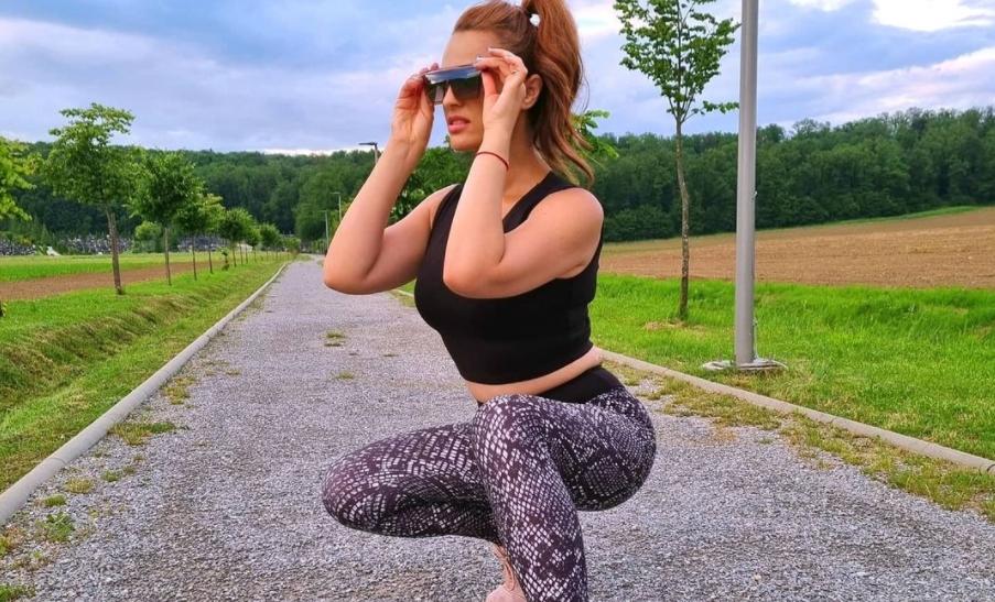 Фокус во меѓуножјето: Кога несудената македонска снаа вежба во теретана на мажите им пропаѓа тренингот (фото)