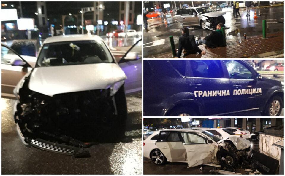 """Страшна сообраќајка кај Соборна вечерва: """"По несреќата, момчето лежело неподвижно""""- раскажуваат сведоци (ФОТО)"""